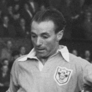 A portrait of Stanley Matthews