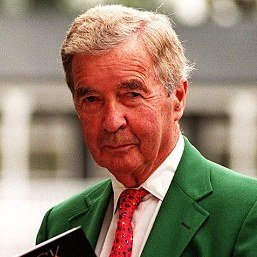 A portrait of Dick Francis